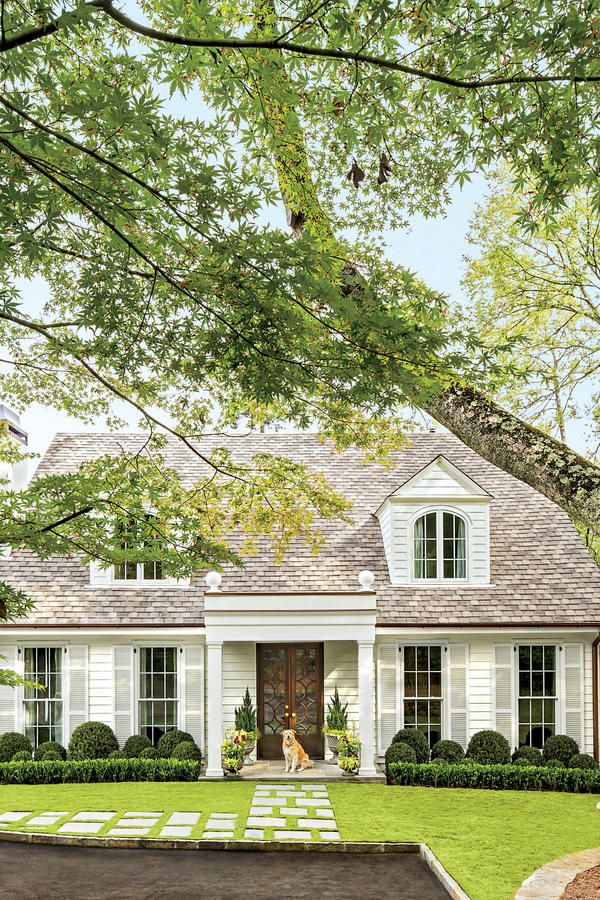 Charming Home Exteriors: Birmingham Colonial Cottage