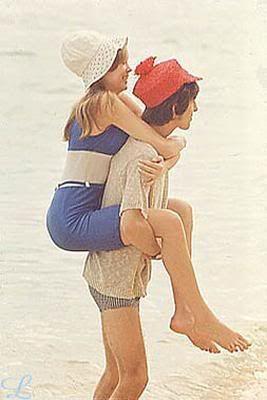 George Harrison and Pattie Boyd-Harrison (GeORGe HaRRisOn ANd PaTTie BoyD HoneYmOon 1966 Photo by KieRo_uNaS)