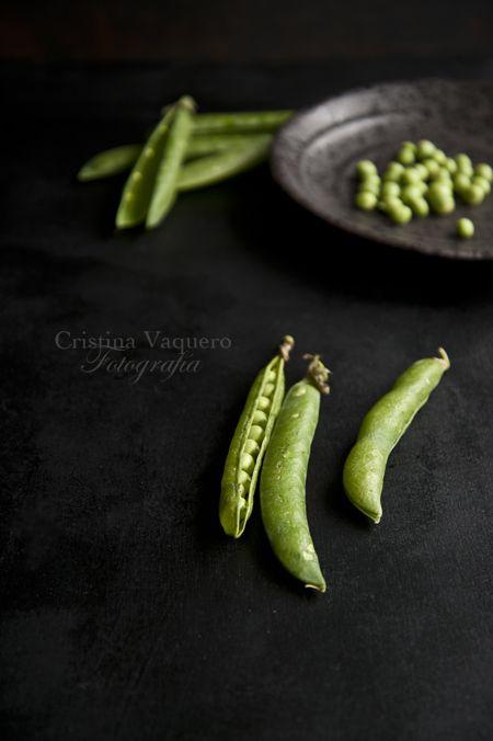 green peas/ food photography