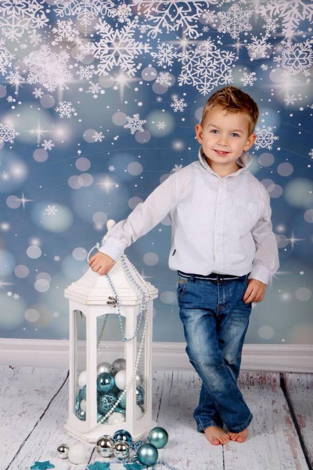 vánoční focení dětí