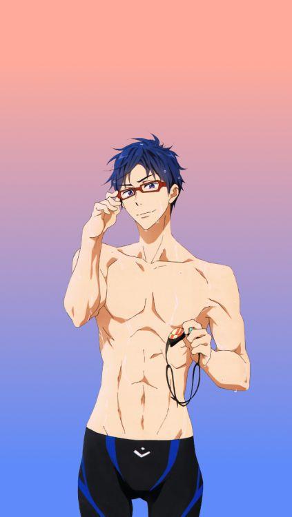 Rei Free! Iwatobi Swim Club iPhone 5c wallpaper