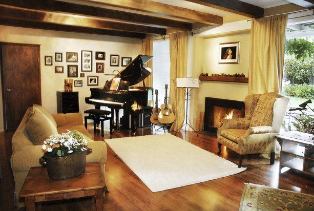 Baby Grand Piano Placement In The Home With Images Piano
