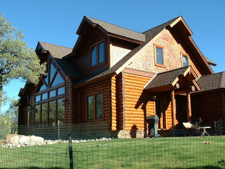 1000 Images About Log Home Exterior On Pinterest Cedar