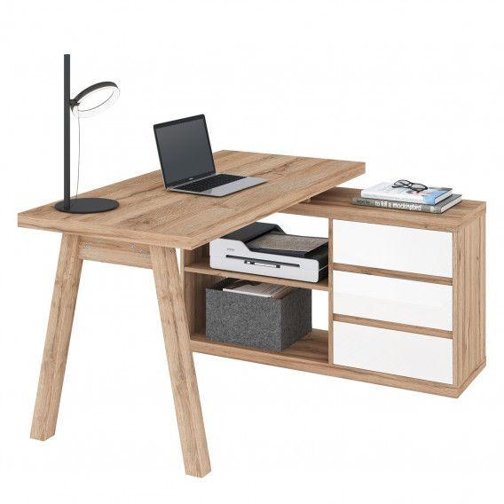 Eckschreibtisch Rya Kaufen Home24 Bureau Angle Tabouret De Bureau Table Bureau
