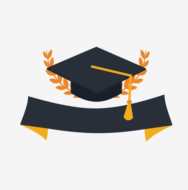 Graduation Hat Cartoon Graduation Season Hat Hat Frame Graduation Season Decoration Frame Vector Cartoon Vect Graduation Hat Graduation Signs Graduation Vector