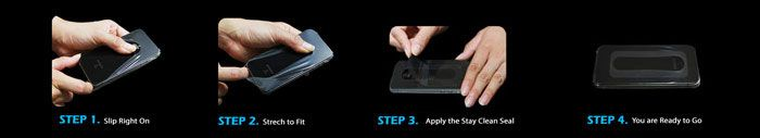 WaterSkin Protective Skin for Samsung Galaxy S2 - Triple Pack