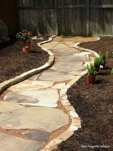 Back yard pathway, this would look great in our backyard!