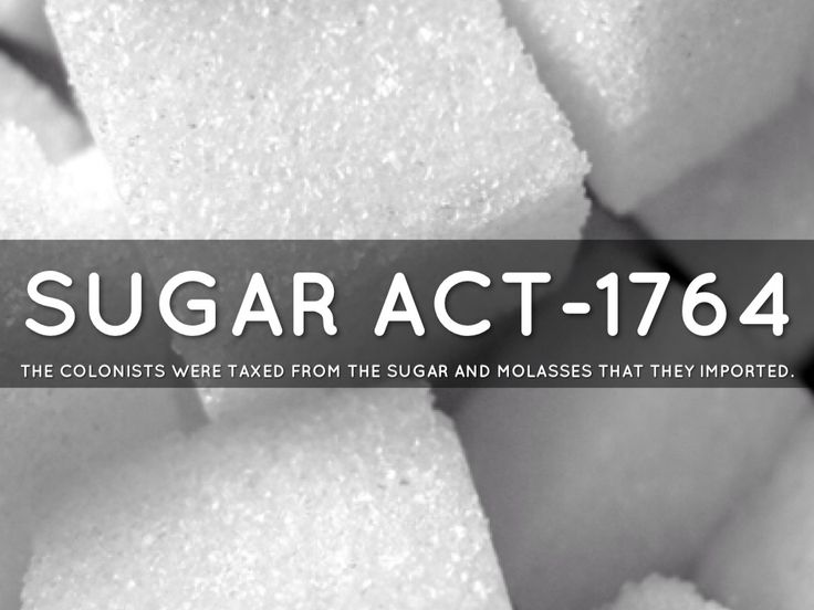 an introduction to the history of the sugar act of 1764 Thus the 1764 sugar act or american  later however peel's re-introduction of income-tax meant some duties could be  follow a date with history on.