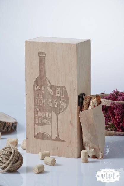 Excited to share the latest addition to my shop: Wine box #etsy #furniture #storage #wood #zboxgift