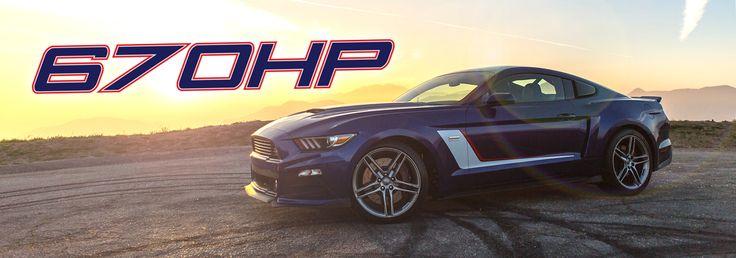 ROUSH Stage 3 Mustang Horsepower: 670 HP