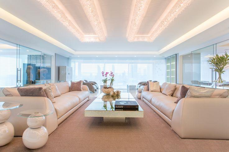 Koi crystal chandeliers by Manooi Interior is designed by Mary Calvo #CrystalChandelier #Design #Lighting #Koi #luxury #furniture #interior #interiordesign #home #homedecor