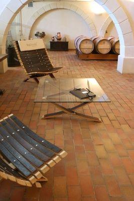 Meubles et des objets pratiques et décoratifs avec les barriques des Grands Crus - For wine lovers !