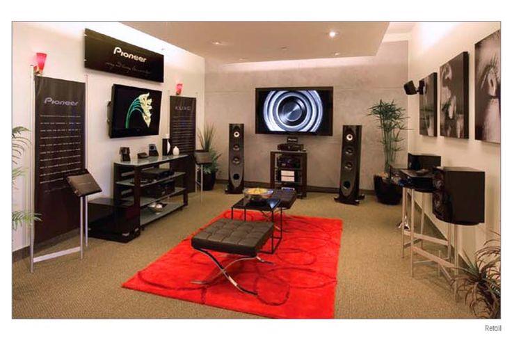 Pioneer Experience At Ken Crane's Big Screen TV