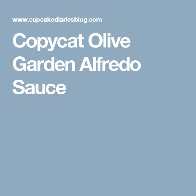 Copycat Olive Garden Alfredo Sauce