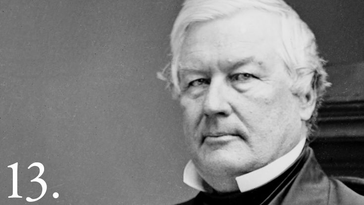 Millard Fillmore, a member of the Whig party, was the 13th President of the United States (1850-1853) and the last President not to be affiliated with either the Democratic or Republican parties. Learn more: go.wh.gov/hXfi8V