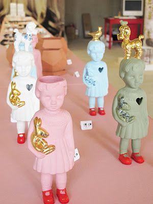 L A M M E R S E N L A M M E R S  - GOT IT   Clonette dolls in ceramic