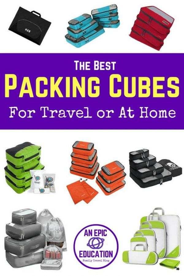 Packing cubes are great for both travel   everyday life. They organize  clothes, underwear, toiletries, electronics   more. Packing cubes are also  useful at ... 7ca4b86ba3
