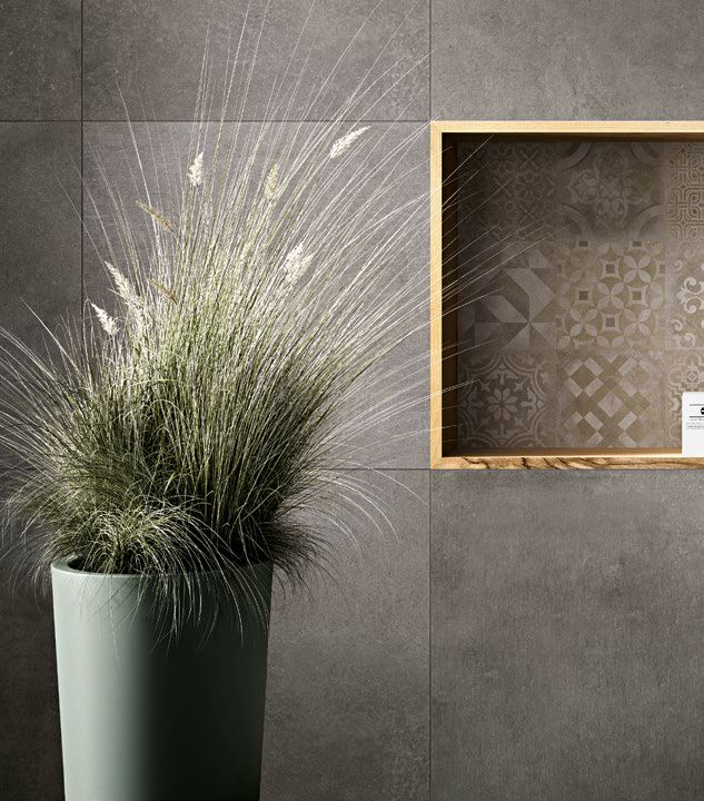 #Ragno #Studio Antracite 60x60 Cm R4PY | #Porcelain Stoneware #Cement #60x60