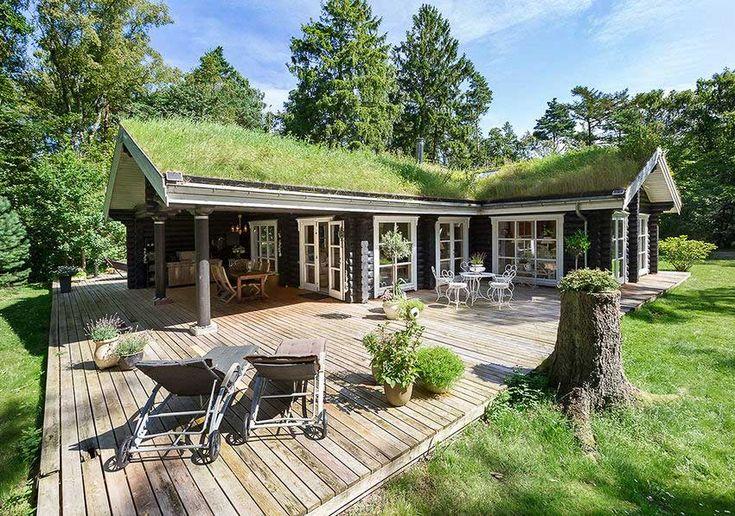 Egy csipetnyi mennyország - faház az erdőben csodás terekkel, teraszokkal