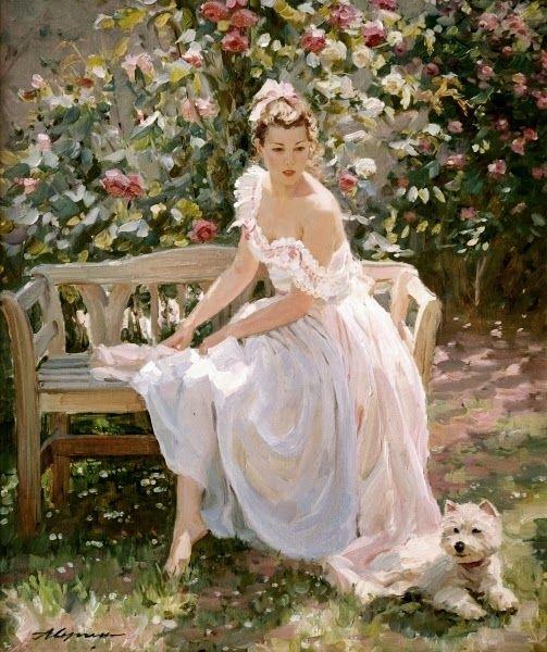 *In The Rose Garden* ~ by Alexander Averin ♡♥