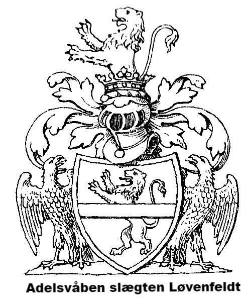 Dette adelsvåben blev givet til min tipoldefar Christian Friedrichsen hvorefter han tog navnet Christian Løvenfeldt. Læs lidt af historien her: http://ift.tt/2t3qBzC http://ift.tt/2uneBwD