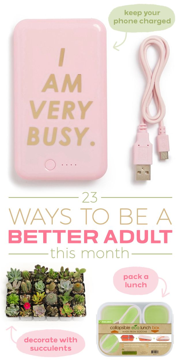 23 Ways To Be A Better Adult This Month – Gossip News Line