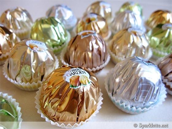 Ferrero Garden chocolates...little bites of heaven.