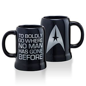 ThinkGeek :: Star Trek Logo Mug 20oz