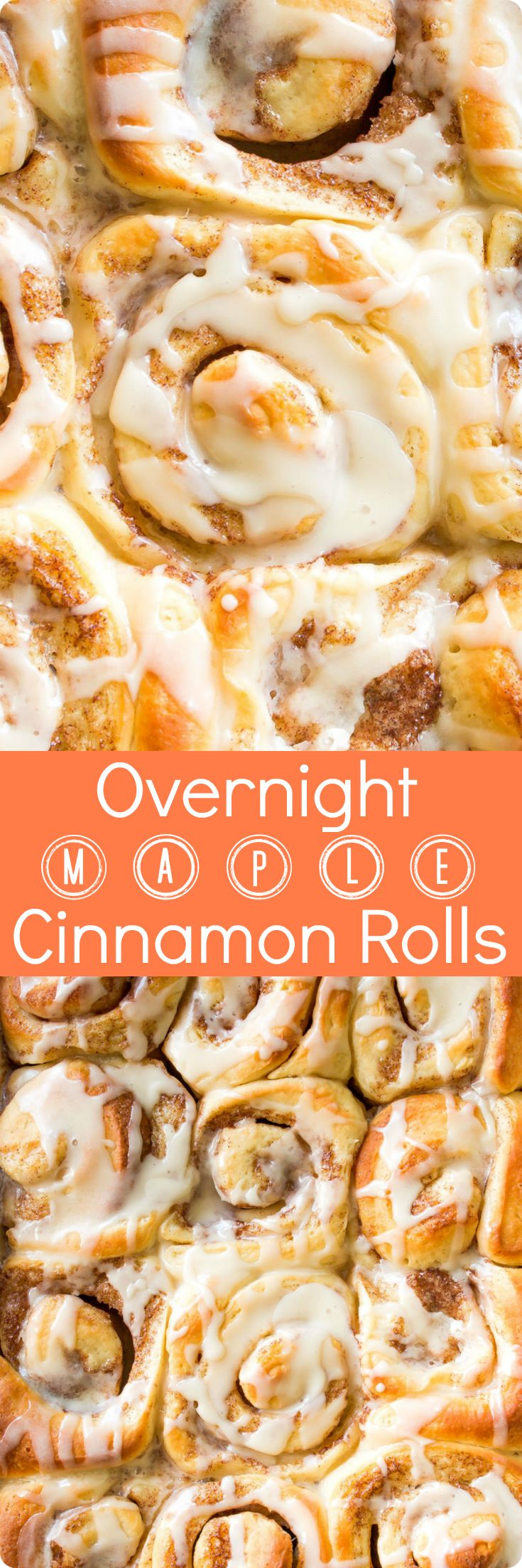 Overnight Maple Cinnamon Rolls | Save time in the morning and wake up to warm, fresh, cinnamon goodness with these overnight maple cinnamon rolls. Find recipe at redstaryeast.com.