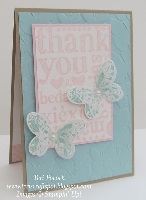 World of Thanks Stamp Set by Stampin' Up!