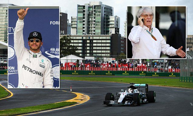 Bernie Ecclestone to axe new F1 qualifying system after farcical debut #DailyMail