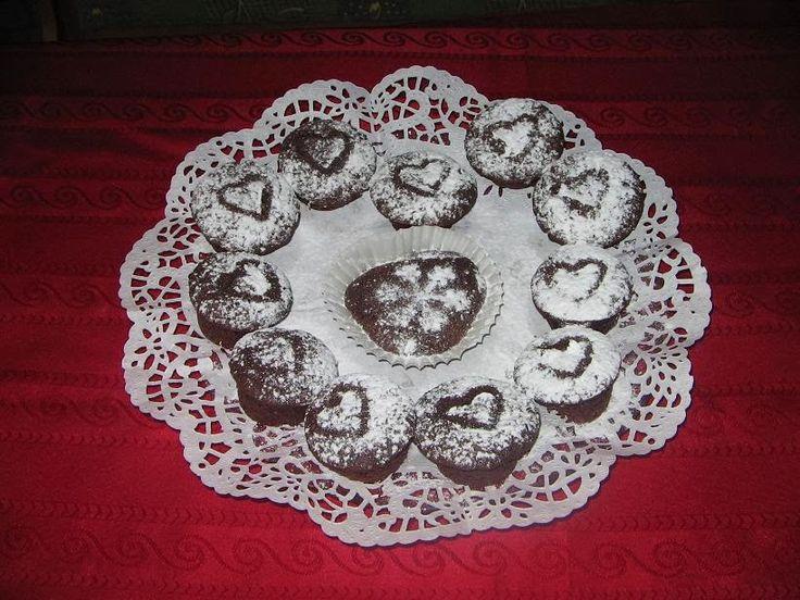 Heni modern konyhája: Lekváros-csokis muffin