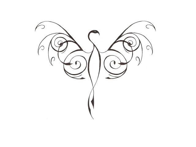 phoenix tattoos for women | Amazing phoenix tattooos design for yours | Like Tattoo