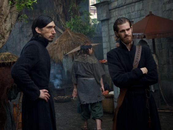 Adam Driver and Andrew Garfield in 'Silence' Photo source: http://www.independent.co.uk/arts-entertainment/films/adam-driver-interview-part-of-your-job-as-an-actor-is-to-be-a-spy-girls-lena-dunham-silence-martin-a7498961.html