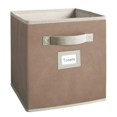 Martha Stewart Living Caraway Seed Fabric Drawer for @Babble Home Depot project