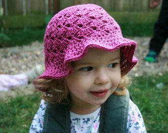 Crochet Pattern Crochet hat pattern summer floppy by LuzPatterns