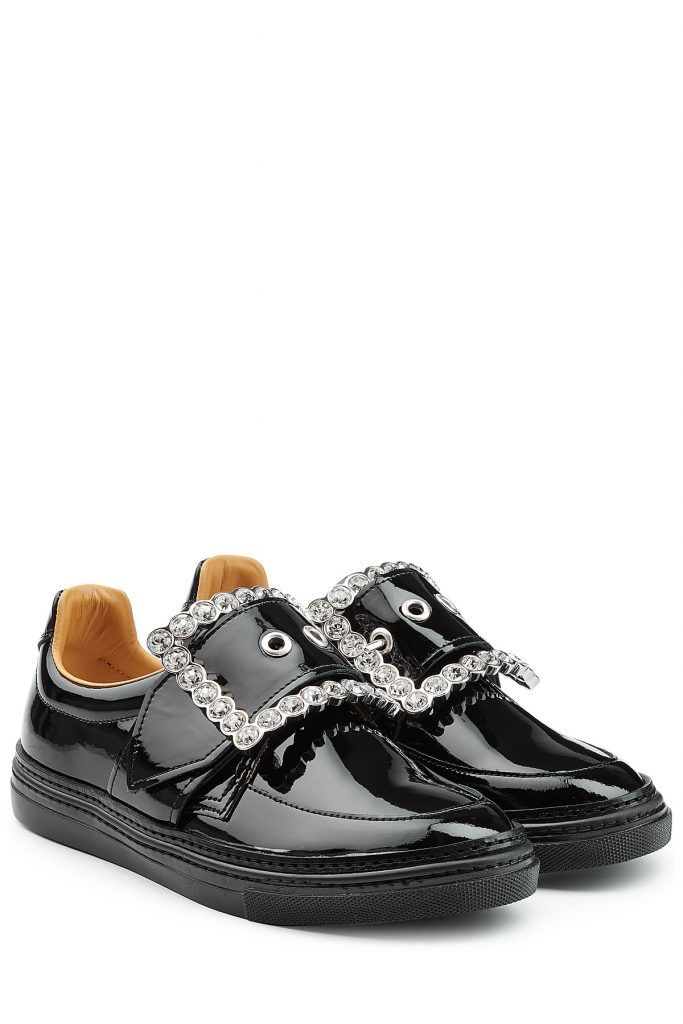 #Maison #Margiela #Sneakers aus #Lackleder mit #Décor #, #Schwarz für #Damen…