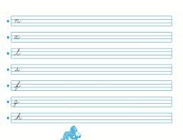 Resultado de imagen para caligrafia ejercicios para primaria                                                                                                                                                     Más