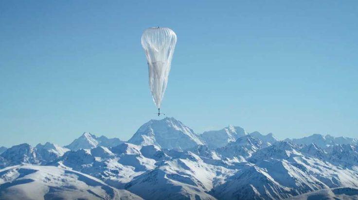 Balões para acesso à internet ajudam em desastres naturais