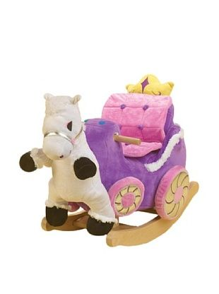58% OFF Rockabye Princess Carriage Rocker