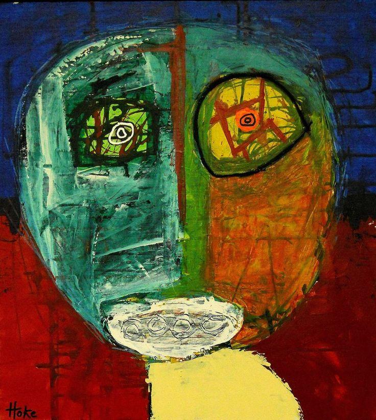 """""""Man Ray"""" Hoke, outsider/dada artist"""