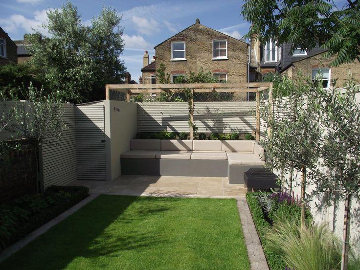 A family garden for outside living