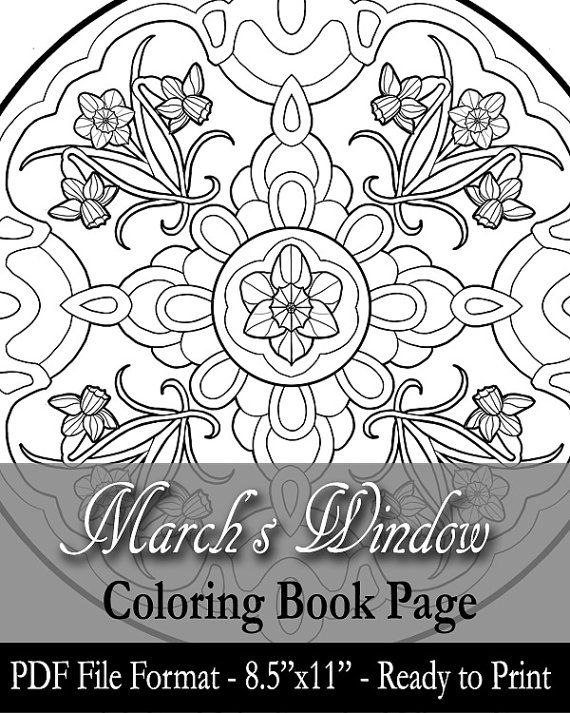 March Coloring Pages Pdf : Best ladies of the months by angela r sasser images on