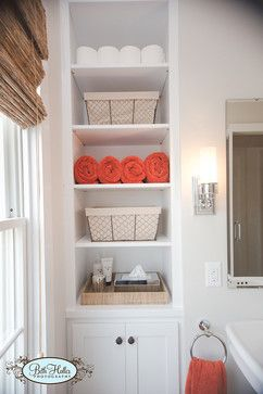 Bathroom Shelving Design Ideas, Pictures, Remodel, and Decor - page 59