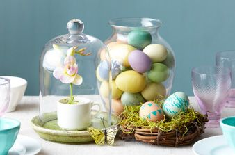 Simple Tablescape: Spring