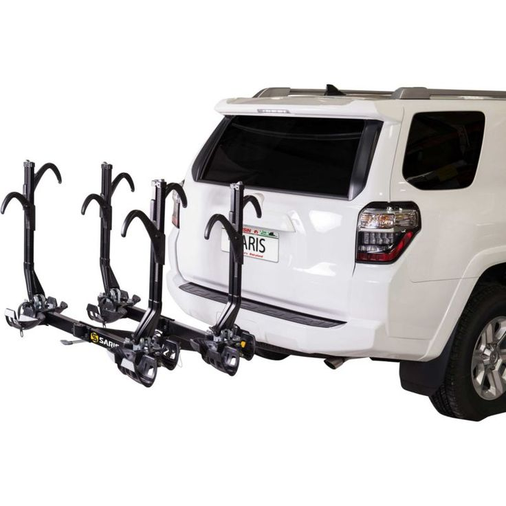 Saris SuperClamp EX Hitch Mount 4-Bike Rack