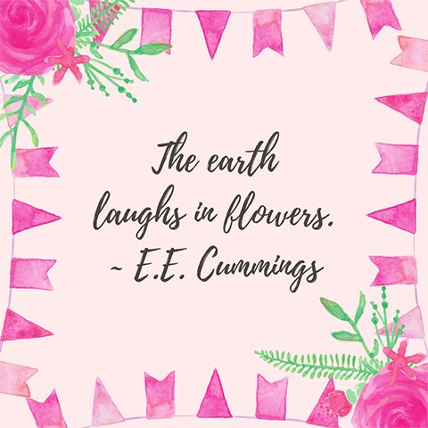 Easy DIY Spring inspirational quote square template with painted Pink roses and dainty bunting border. Created by ArtnerDluxe in Canva. Customize your own version @ https://www.canva.com/artnerdluxe. Art elements © ArtnerDluxe www.artnerdluxe.com #canva #graphicdesign #spring #spring2018 #hellospring #template #canvatemplate #canvalove #diydesign #diygraphics #illustration #illustrator #quote #springquote #inspirationalquote #boho #gardenquote #garden #floral #flowers #gardening