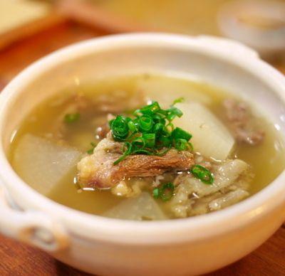 牛テールと大根のスープ』 を、作ってみたが......... by J吉さん ...