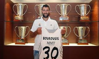 Ioannis Bourousis strengthened Real Madrid - Basketball