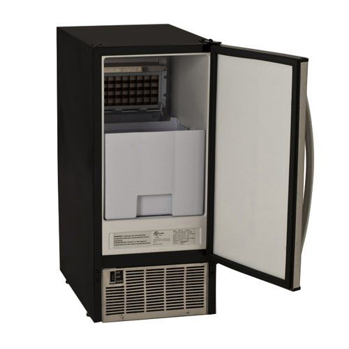 EdgeStar 45 Lb. Undercounter Clear Ice Maker - Stainless Steel - http://www.our-shopping-store.com/appliances.asp